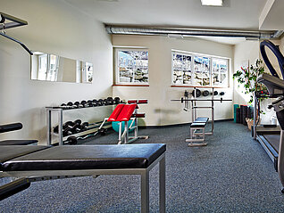 Fitness-Studio im Wellnesshotel in Kaprun